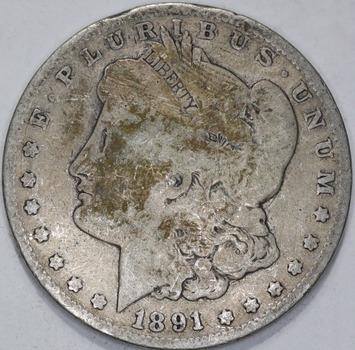 1891-O Circulated Morgan, Poss VAM-8 - High O