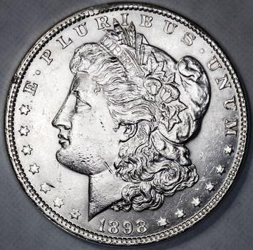 1898 Uncirculated Morgan Silver Dollar