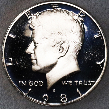 1981 DCAM Gem Proof Kennedy Half Dollar