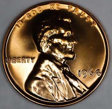 1964 Gem Proof Lincoln Cent