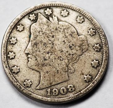 1908 Liberty V Nickel