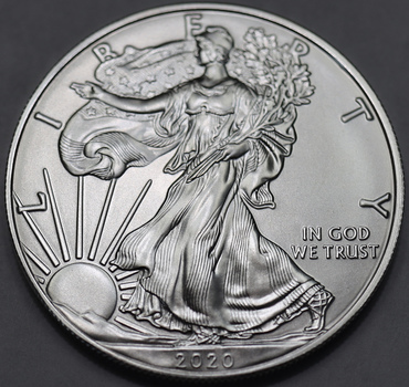 2020 BU Last Year Reverse Very Collectible Silver Eagle