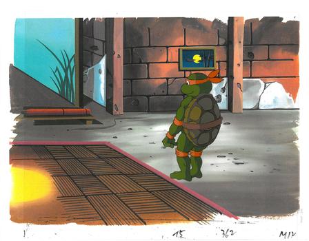 Michelangelo of (TMNT) Turtles - Original Production Cel