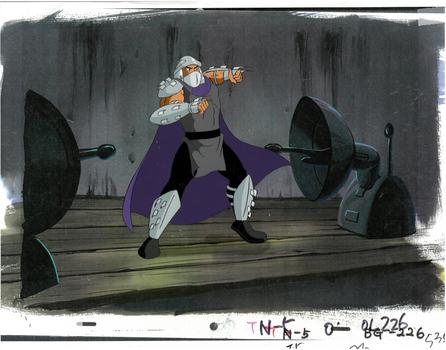 Shredder - a TMNT Original Production Cel