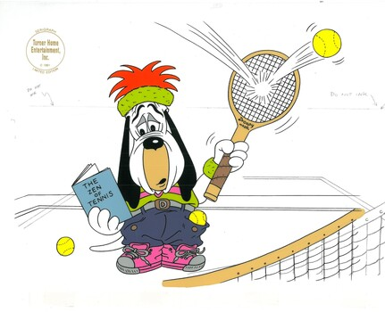 Droopy- Zen of Tennis Sericel