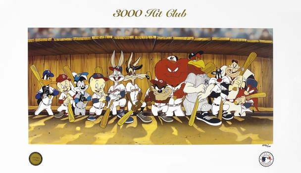 3000 Hit Club - MLB and Looney Tunes