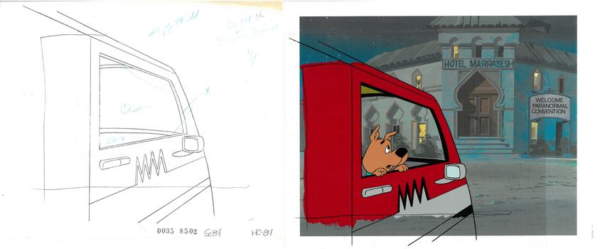 Scrappy - Scooby-Doo Original Production Cel