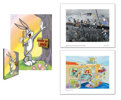 Warner Bros. Dental Themed Set of 3 Images