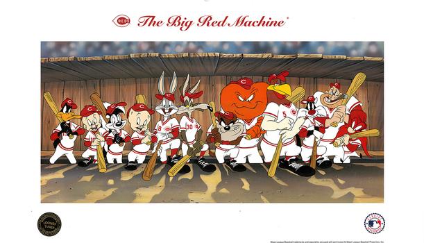 BIg Red Machine - Looney Tunes - FIne Art Lithograph