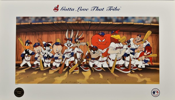 Cleveland Indians - Gotta Love That Tribe Lithograph