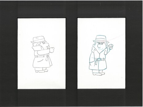 Inch High Private Eye - Original Production Drawings