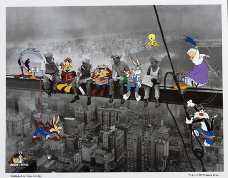 Lunchbreak - Looney Tunes Lithograph