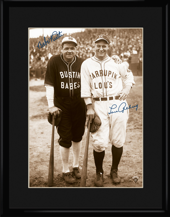 Babe Ruth and Lou Gehrig - Bustin Babes