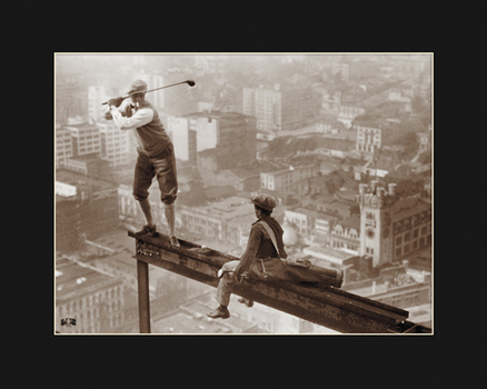 Swing Under Construction - Fuji Crystal Archival Photograph