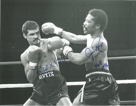 Pryor and Arguello Signed Boxing Lithograph