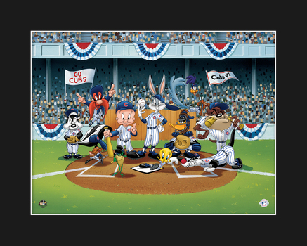 Looney Tunes Cubs Line-Up Giclee - L.E.