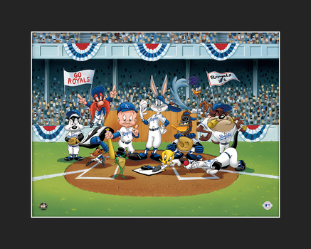 Looney Tunes Royals Line-Up Giclee L.E.