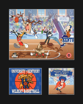 University of Kentucky Warner Bros. Basketball