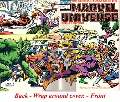 Marvel Universe, The Official Handbook - #1 & #2