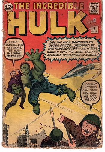 The HULK, #3