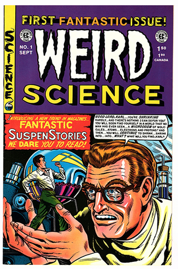 Weird Science #1, 1990s REPRINT