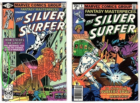 The Silver Surfer, #8 & #9