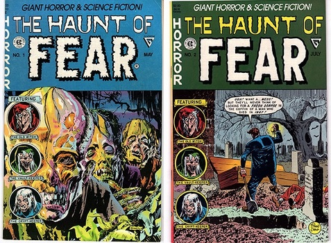 The Haunt of FEAR, #1 & #2