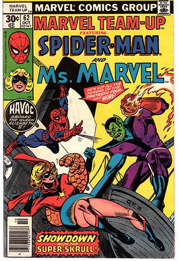 Marvel Team-Up ft. Spider-man and Ms. Marvel