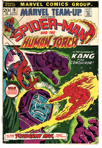 Marvel Team-Up ft. Spider-man and the Human Torch