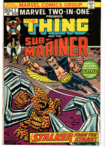 Marvel Two-In-One Persents Submariner and The Thing