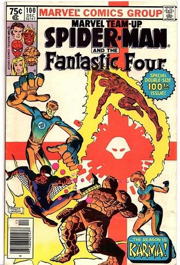 Marvel Team-Up ft. Spider-man and Fantastic Four