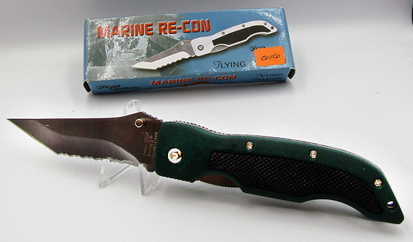 Frost Cutlery Flying Falcon Series - Marine Re-Con Pocket Knife