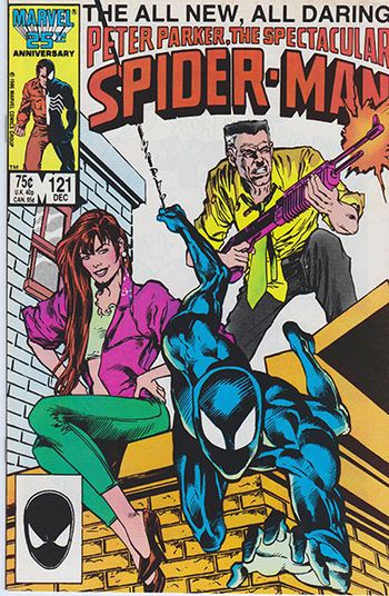 1986 Marvel CG:  Peter Park, The Spectacular Spider-Man #121