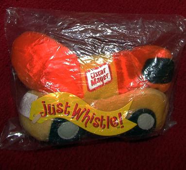 "Oscar Mayer ""Wienermobile"" plush toy"