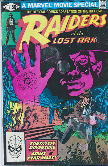 1981 Marvel Movie Special:  Raiders of the Lost Ark  #1
