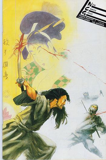 1988 NCG:  Young Master 3 - A Samurai Story.