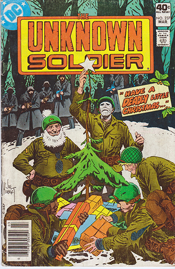 1980 DC Comics:  The Unknown Soldier #237  (Christmas Issue)