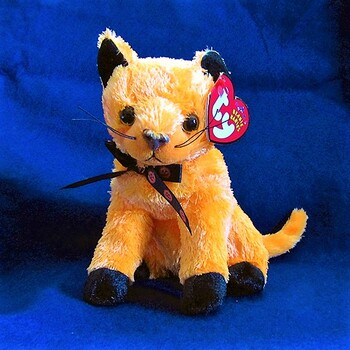 """Adorably Cute Beanie Baby:  """"Scared-e""""  (Production run of only 43 days!!)"""