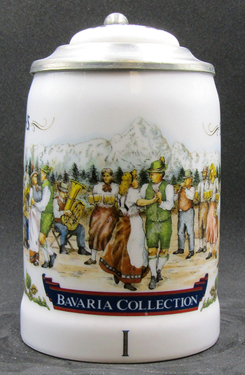FIRST stein in the Stroh's Brewing Co. Bavaria Collection I, #12393