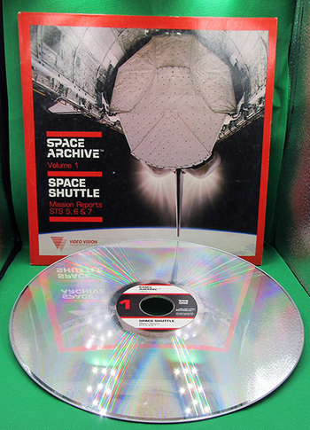 1983 Laser VideoDisc Home Video: Space Archive Vol. 1