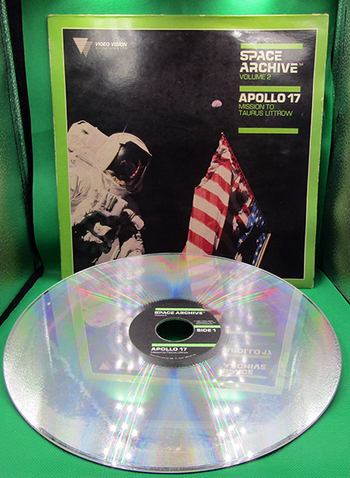 1984 Laser VideoDisc Home Video: Space Archive Vol. 2