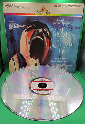 "1983 Laser VideoDisc Home Video: MGM/UA ""Pink Floyd ~ The Wall"""