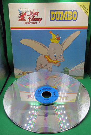 1983 Laser VideoDisc Walt Disney Home Video:  DUMBO