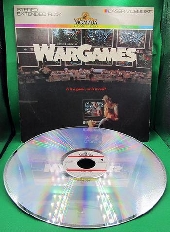 """1983 Laser VideoDisc Home Video: MGM/UA """"War Games"""""""