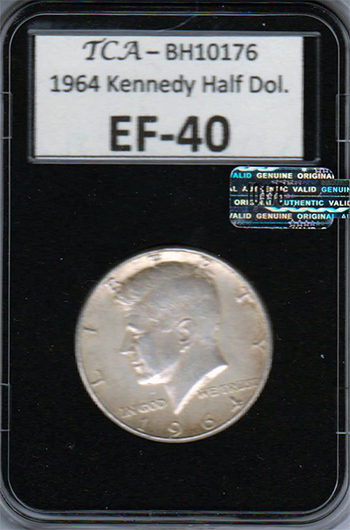 1964 Kennedy Half Dollar - Silver, EF-40