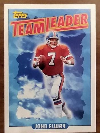 1993 NFL TOPPS #264, John Elway - Team Leader