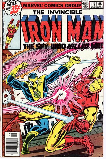 The Invincible Iron Man #117 - An homage to 007, James Bond