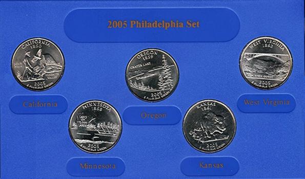 2005 Philadelphia Edition State Quarter Collection