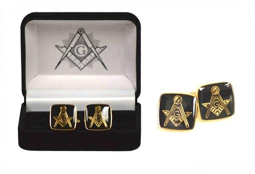 Masonic Square and Compass Cufflinks