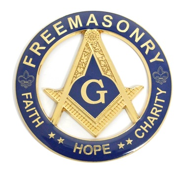 Freemasonry Car Enblem